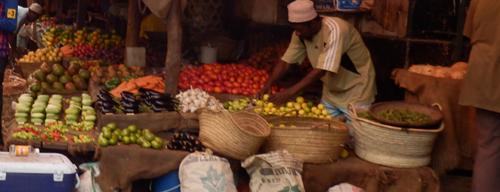 Markt auf Sansibar